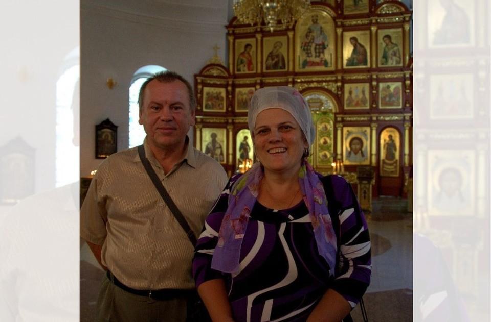 Александр и Елена Возжаевы. Фото из личного архива супругов