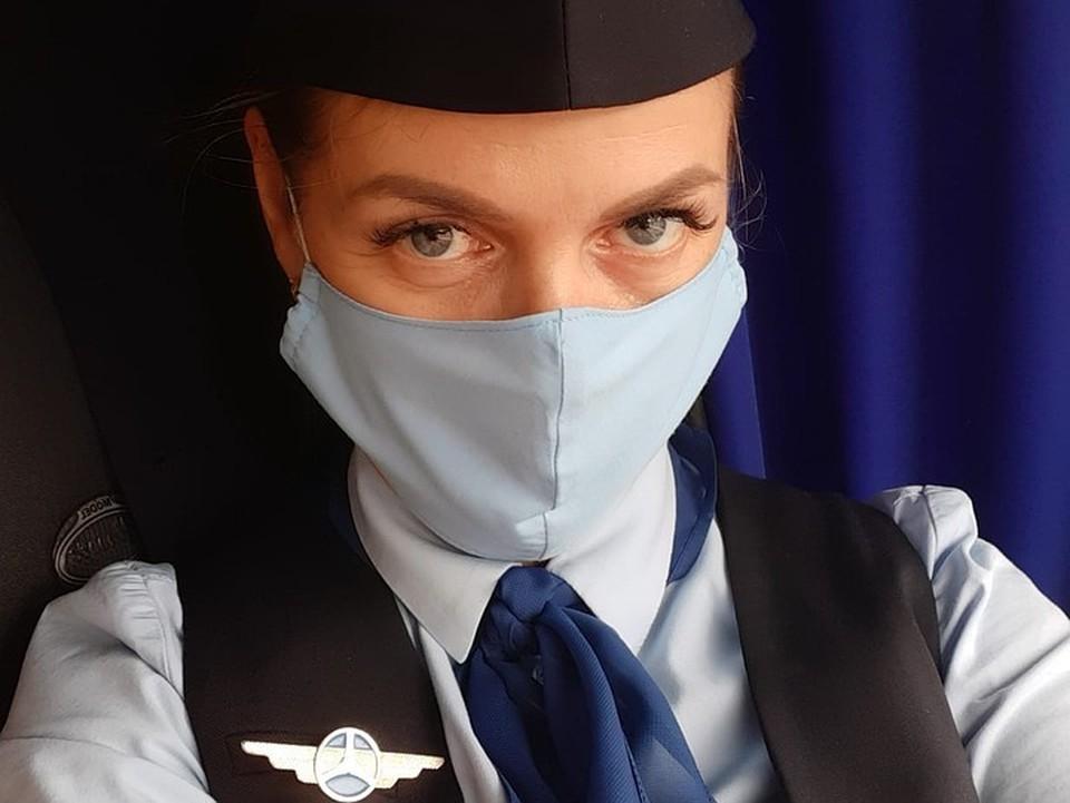 Наталья даже костюмы покупает в специальном магазине для работников аэропорта.