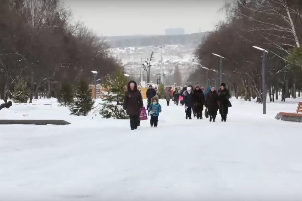 Парки и скверы Кемерова подключают к системе видеонаблюдения. Фото: Илья Середюк/ vk.com
