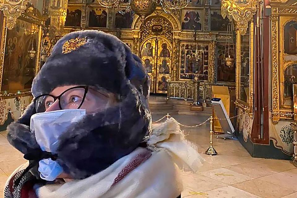 Ксения Собчак побывала на экскурсии в Троице-Сергиевой Лавре