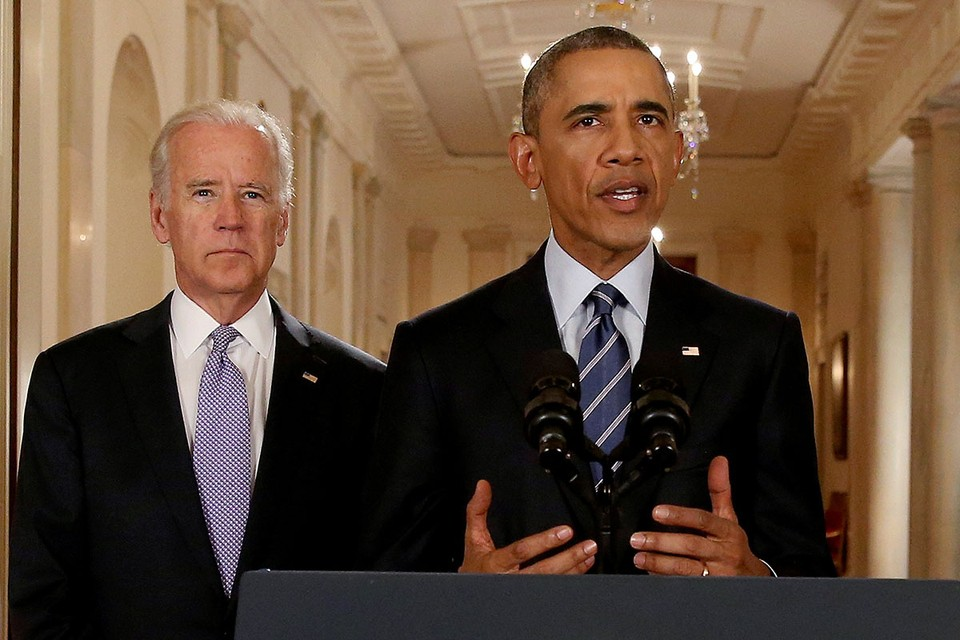 Обама поделился своими мыслями о Байдене