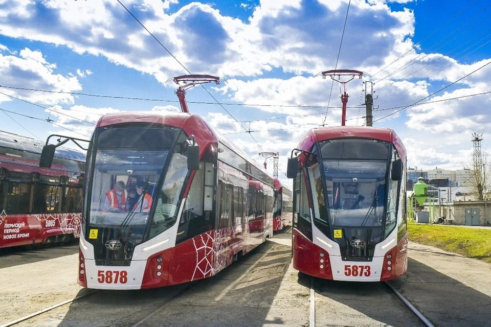 Трамваи пойдут по новым маршрутам в новом году