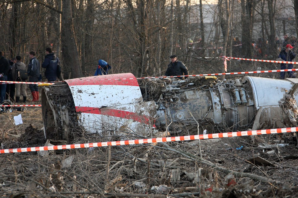 Самолет польского президента Леха Качиньского ТУ-154 разбился под Смоленском утром 10 апреля.