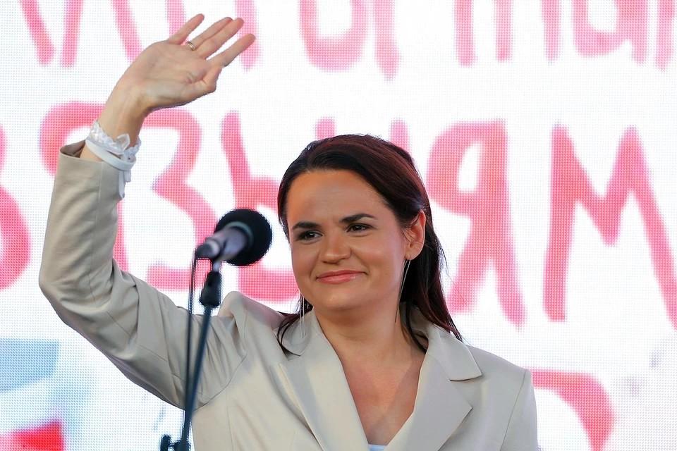 Тихановская пообещала пересмотреть договоренности Лукашенко с Россией