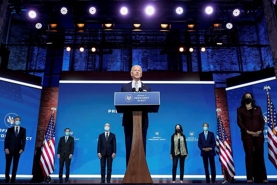 Новое правительство США: кто есть кто в кабинете Байдена