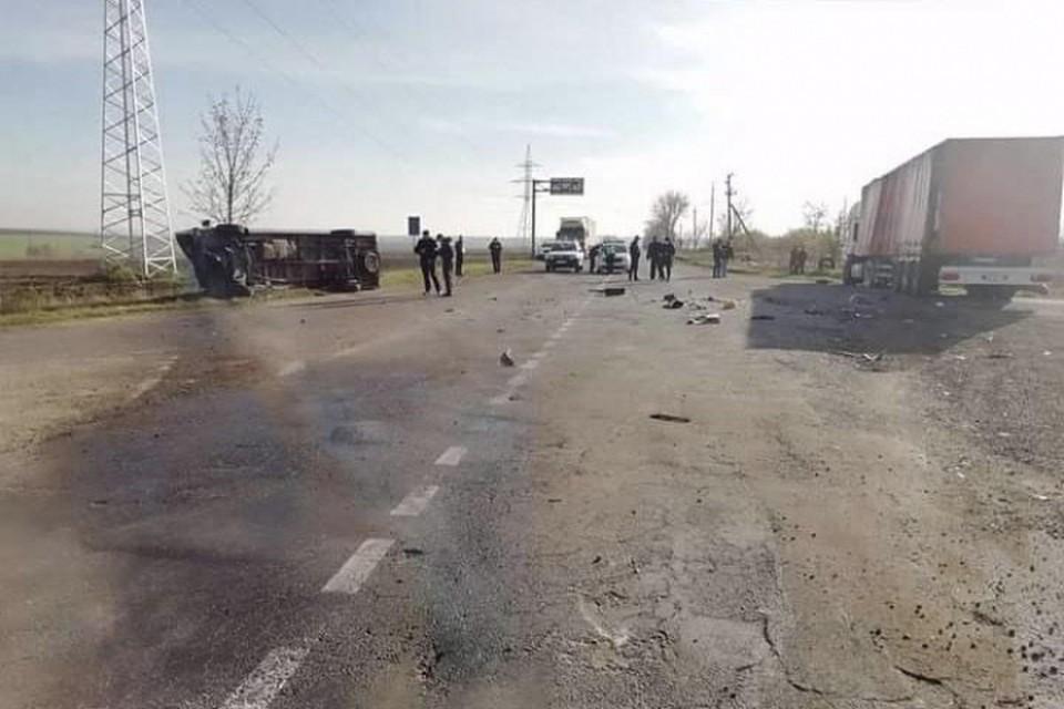 В аварии погиб человек, а ребенок оказался в больнице (Фото: полиция).