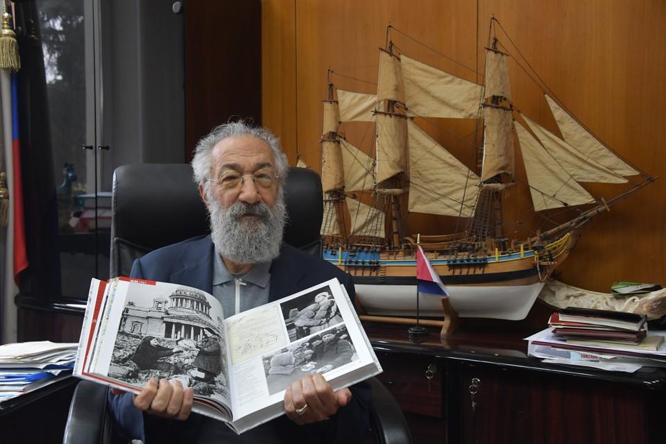 Герой Советского Союза, Герой России, депутат Госдумы Артур Чилингаров