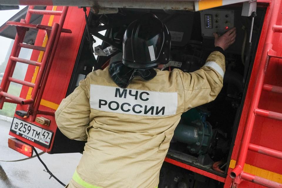 Пожарные прибыли на место ЧП в считанные минуты.