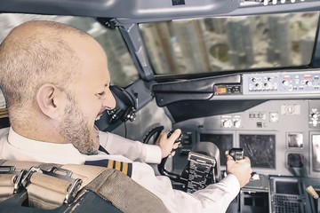Ради неприличного рисунка пилоты подвергли риску сотню пассажиров
