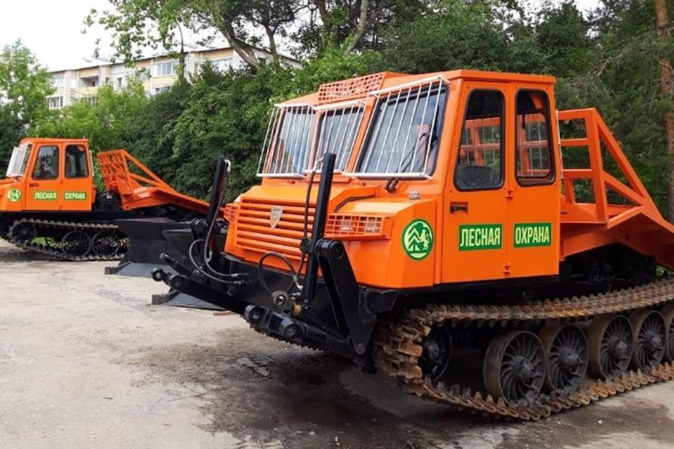 Обновление лесопожарных парков приносит свои плоды в борьбе с лесными пожарами. Фото: rosleshoz.gov
