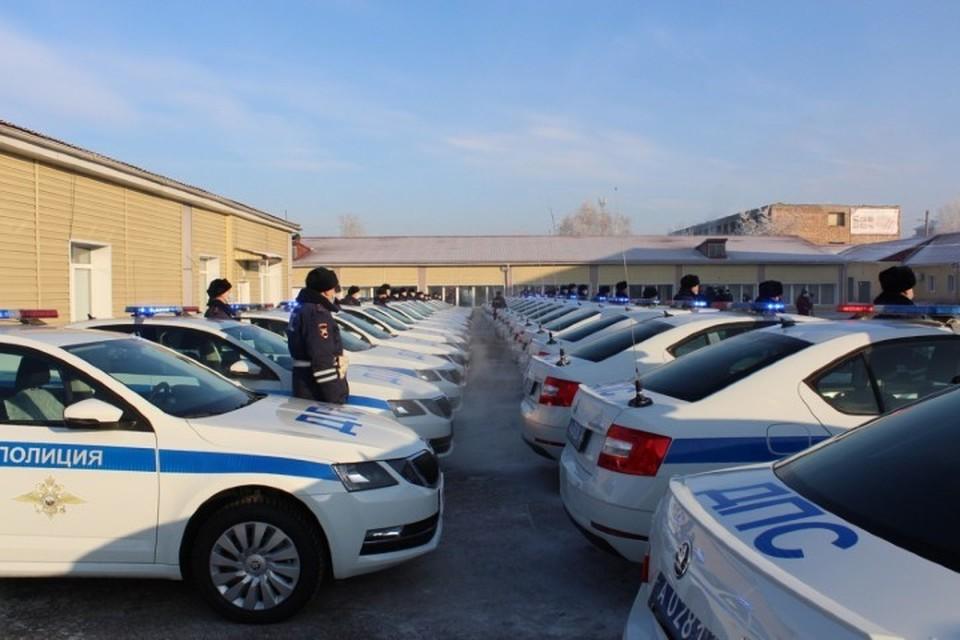 Новые машины поступили в Красноярский край