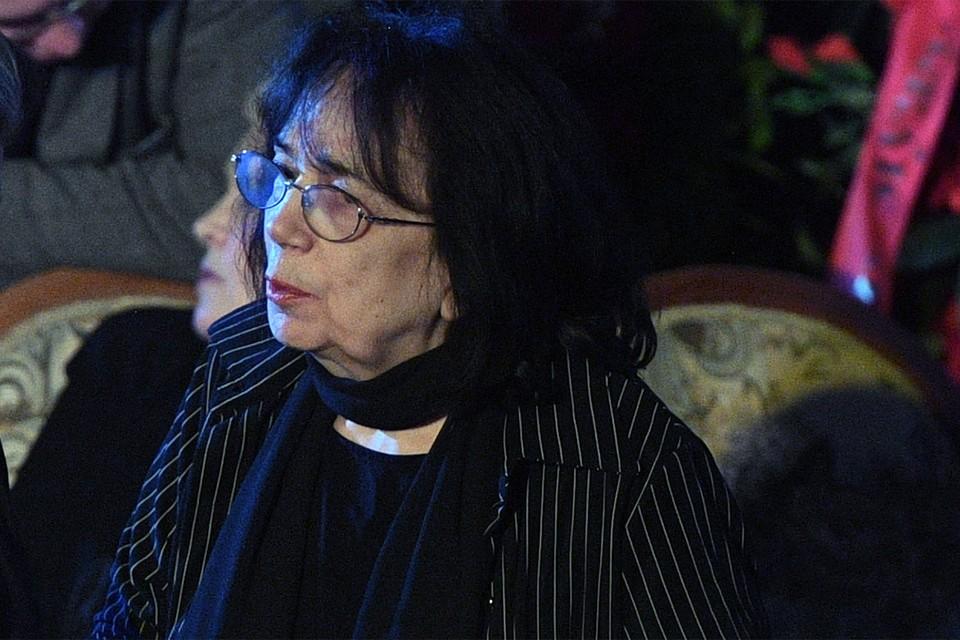 Гитана Аркадьевна, вдова актера Алексея Баталова.