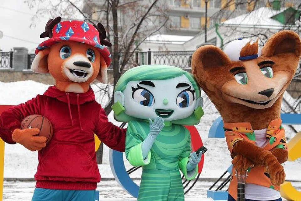 Студенты СПбГУПТД стали авторами талисманов Универсиады-2023. Фото предоставлено СПбГУПТД.