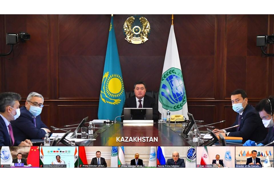 Глава правительства Казахстана предложил укрепить сотрудничество государств ШОС в агропромышленной сфере