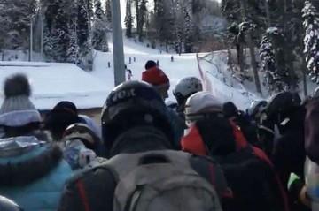 40 тысяч с человека: В Сочи начали продавать места в очереди на подъемники в новогодние праздники