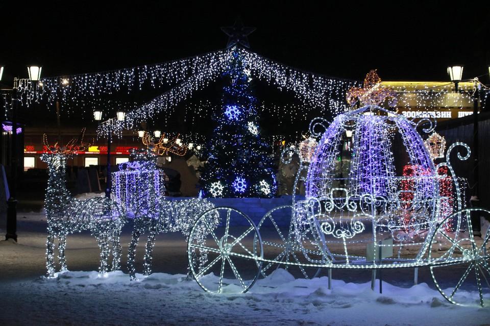 Местный «Арбат» уже в третий раз становится новогодней площадкой