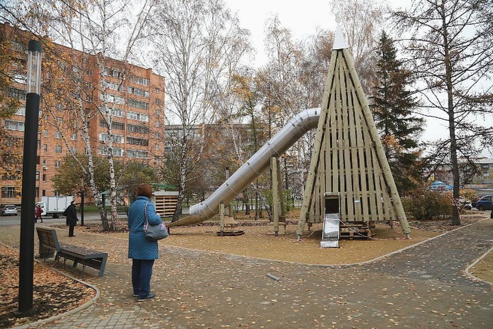 В Красноярске в Железнодорожном районе опять поработали вандалы