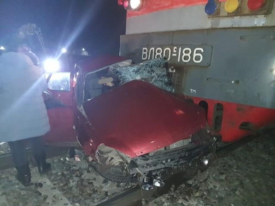 27 ноября 2020 года в ДТП на нерегулируемом переезде в Усть-Лабинске погибли 4 человека. Фото: портал «Усть-Лабинск.инфо»
