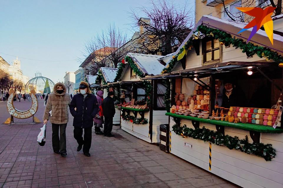 Рождественская ярмарка начала работу в Твери