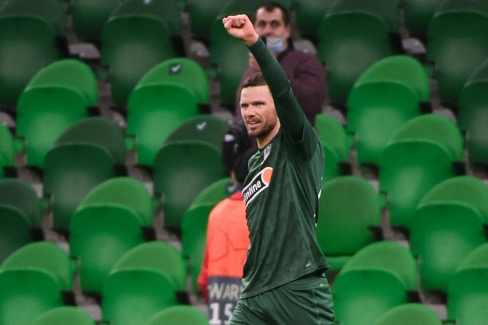 Матч Краснодар - Локомотив закончился со счетом 5:0