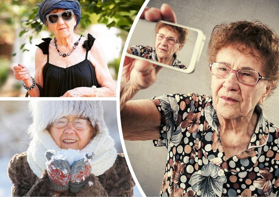 Бабушка писала жизненные истории под красивыми фотографиями Фото: instagram.com/raisa_90years_old/