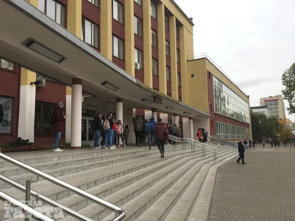 В БрГТУ после студенческих акций отчислили 9 человек. Фото: b-g.by