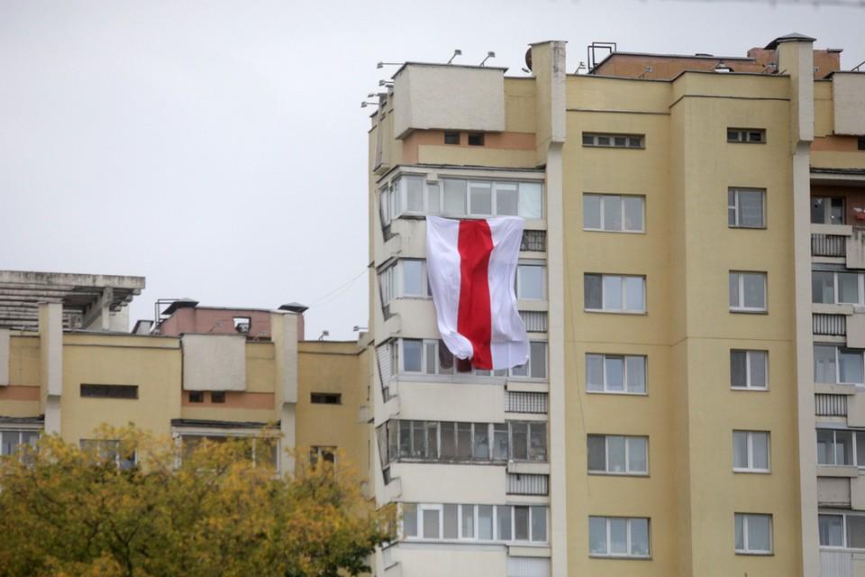 Флаг, который 30 лет назад был государственным, сегодня рассматривается как символ протеста.