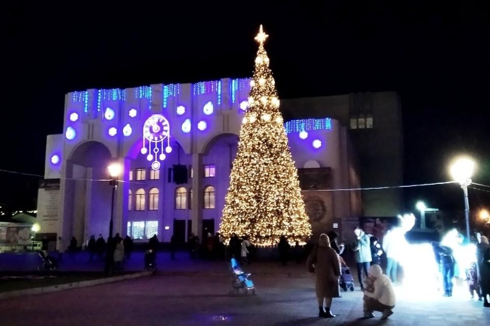 Курянам обещают снег и мороз на новогодних каникулах
