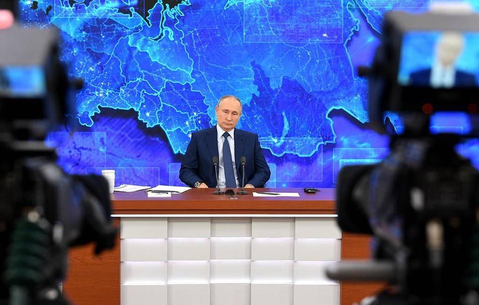 Путин обещал газифицировать две смоленские деревни. Фото: ТАСС.