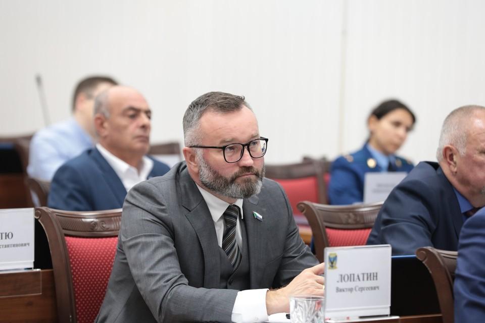 Виктор Лопатин, председатель постоянного комитета Законодательной думы Хабаровского края по вопросам промышленности, предпринимательства и инфраструктуры