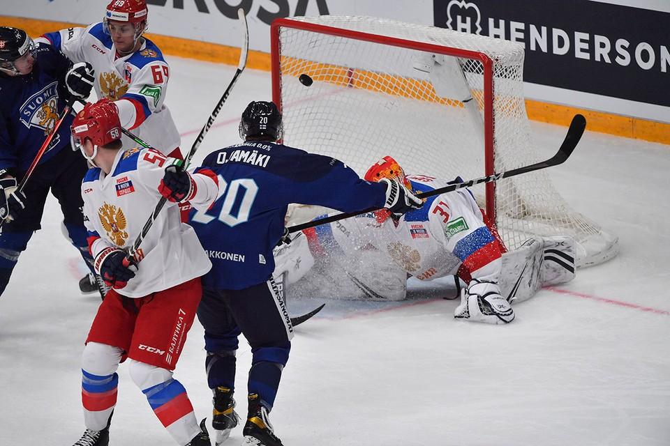 Российская команда обыграла шведов, чехов и финнов