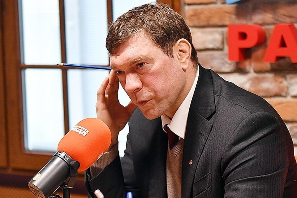 Олег Царев в последние годы живет на Южном берегу Крыма