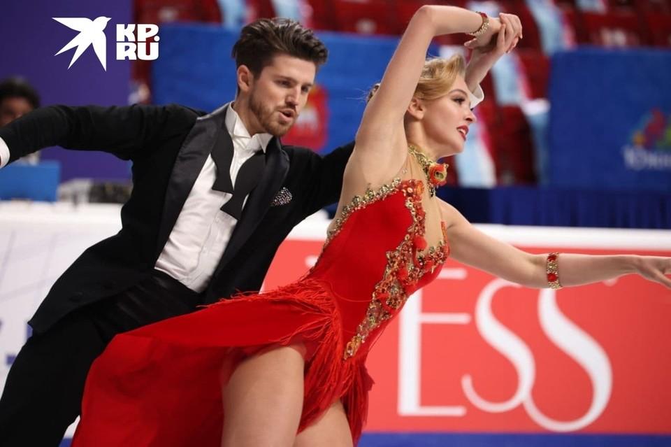 Степанова и Букин - лидеры в ритм-танце