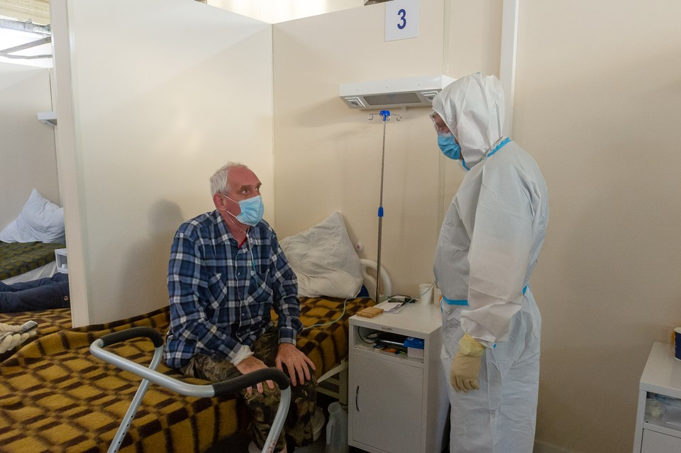 Первых пациентов здесь смогут принять уже в новогодние праздники