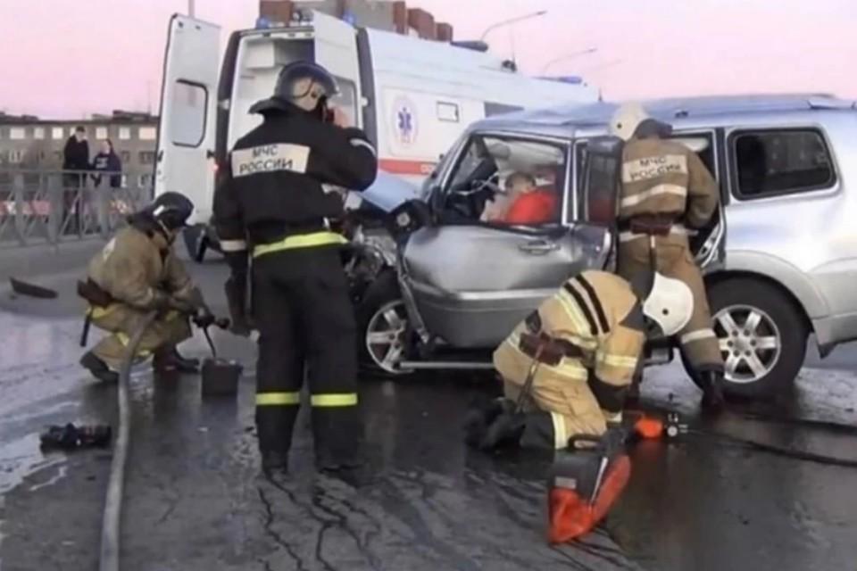 """Ужасная авария произошла 23 мая 2020 года. Фото: """"Хибинформбюро"""""""
