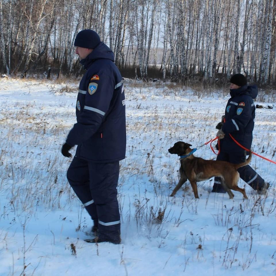 Вчера спасатели уже обследовали больше 50 км в районе Александровской сопки. Фото: поисково-спасательная служба Челябинской области