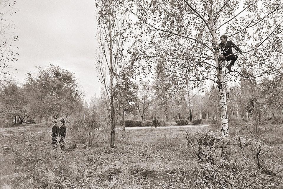 На этом самом месте и состоялась историческая встреча (фото 1989 года). Фото: ГУБСКИЙ С./Фотохроника ТАСС
