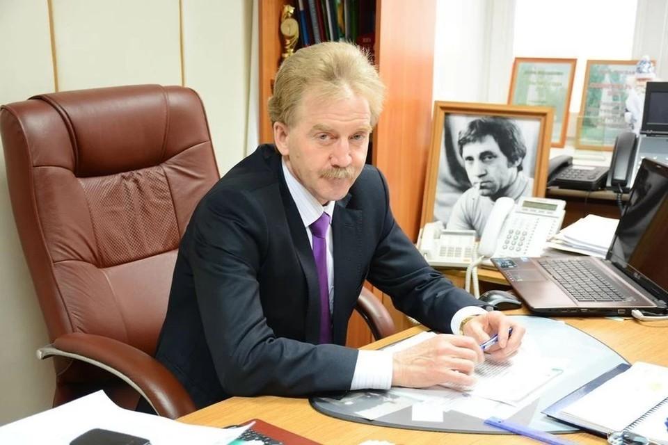 Мэр Кольцово поздравил с Новым годом.