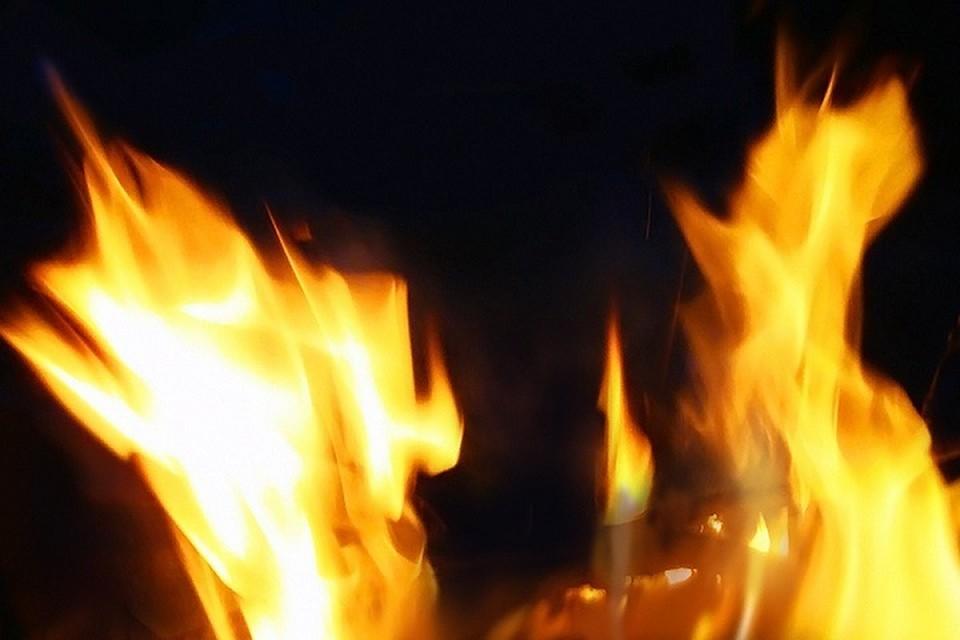 Общая площадь возгорания 18 квадратных метров.
