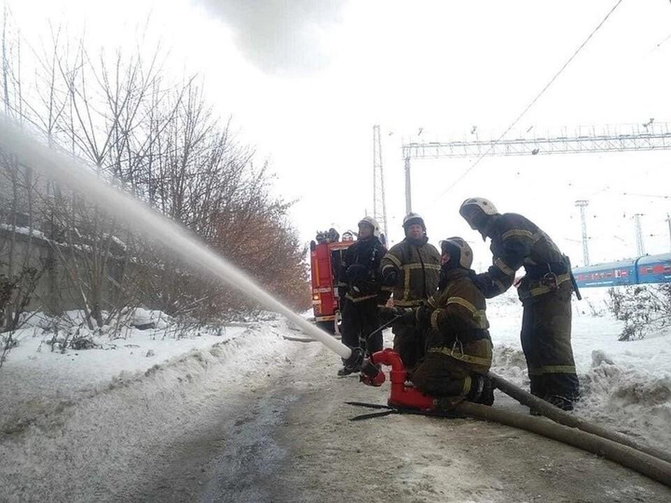 В Белгородской области на пожаре погиб человек.