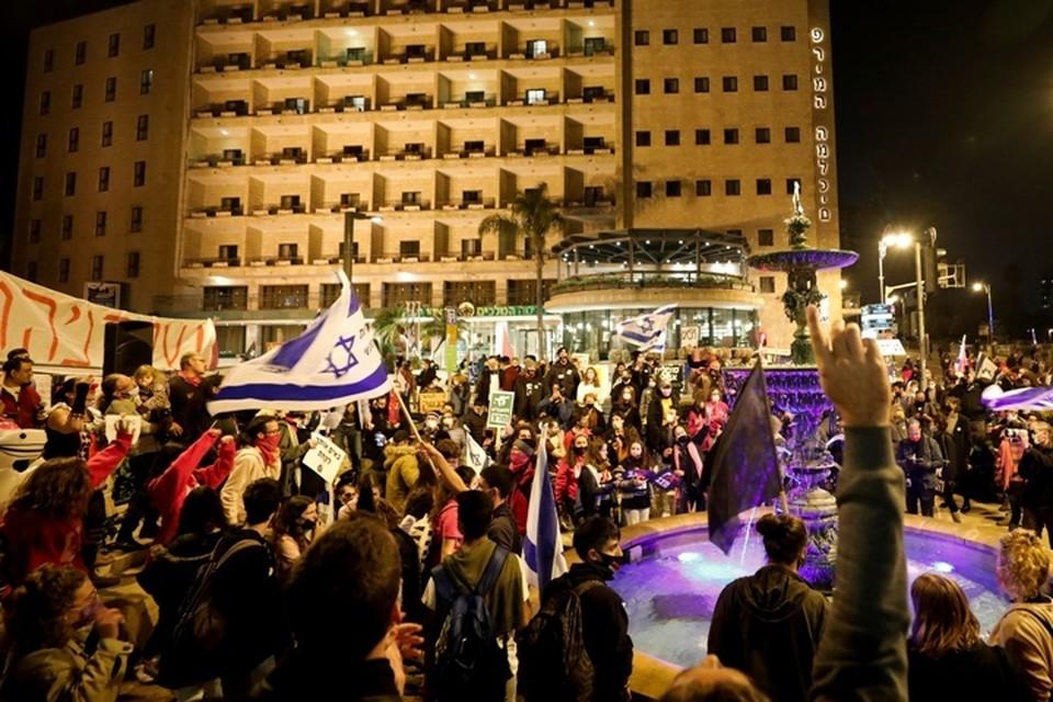Полиция задержала 11 протестующих в Иерусалиме