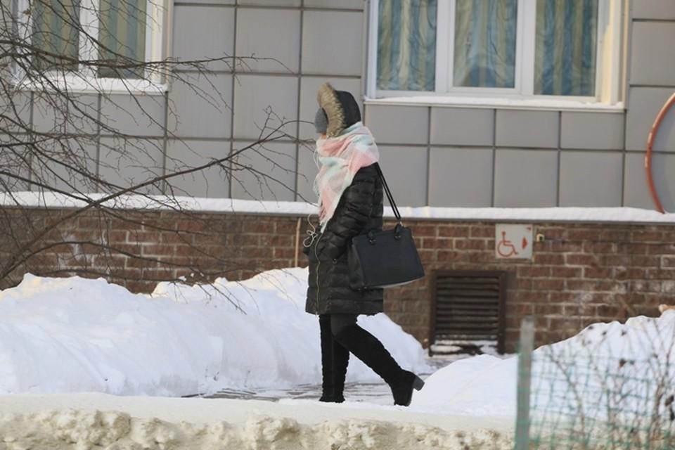 Аномальный мороз в Кузбассе: 6 января похолодает до -38 градусов