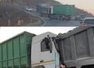 «Герой – подставил себя под удар». Появилось видео момента ДТП с самосвалом под Владивостоком