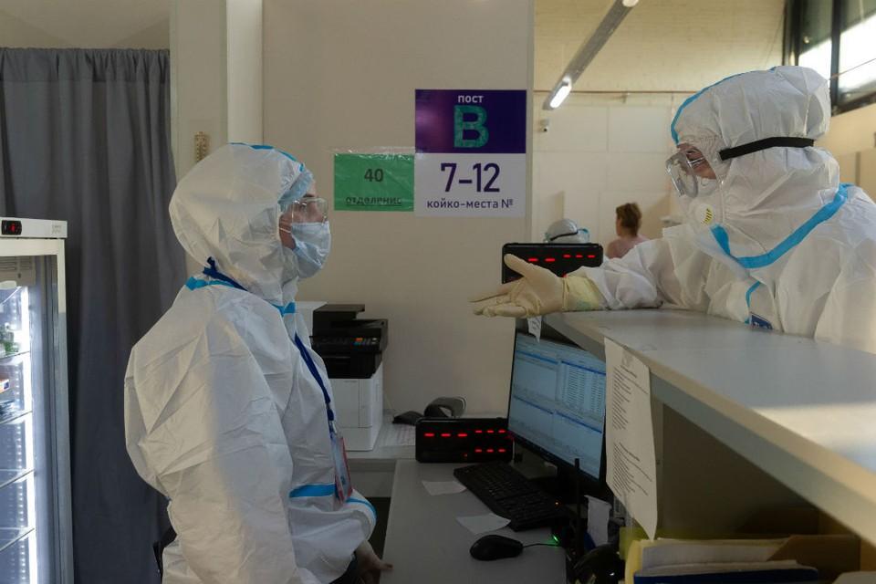В отделении реанимации и интенсивной терапии находится 110 пациентов с коронавирусом.