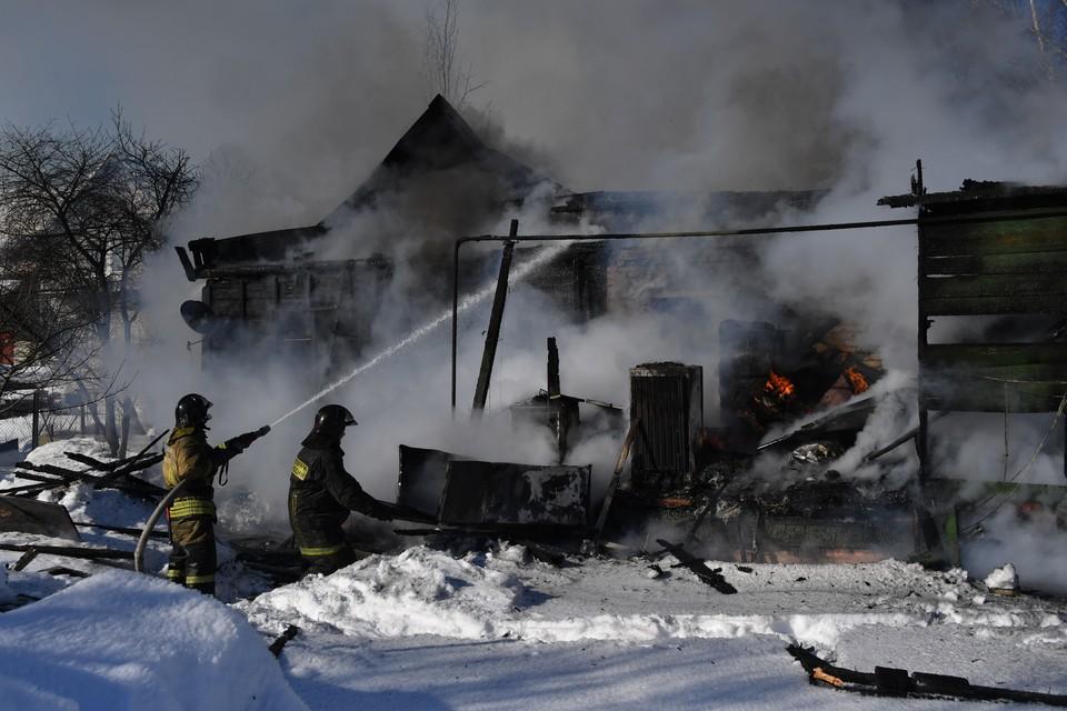 17 пожаров произошло за новогодние праздники в Новокузнецке, двое погибли