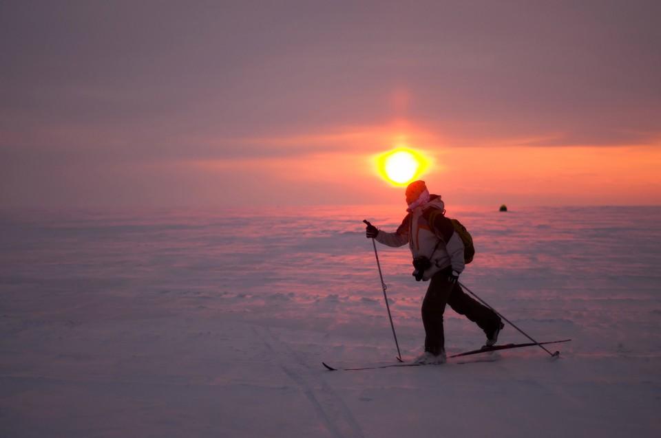 На фоне потепления в Новосибирск вернулись вьюги.