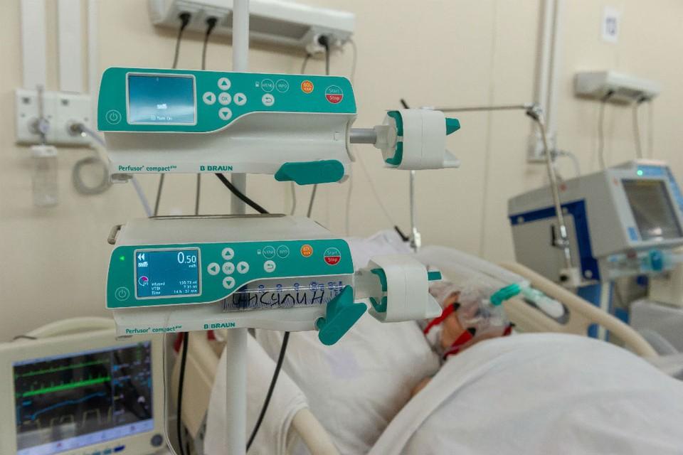 В инфекционных госпиталях сейчас находятся 3115 жителей области.