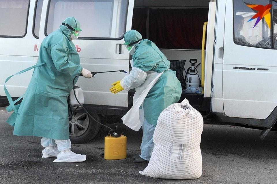 За сутки в Беларуси умерло 10 человек с подтвержденным КОВИД-диагнозом