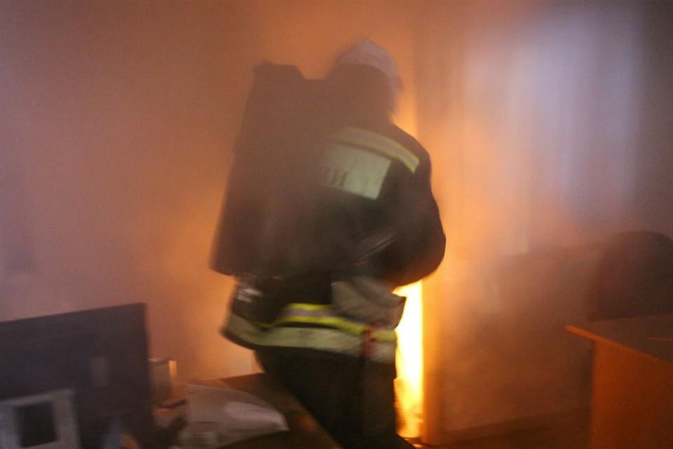 На место ЧП прибыли спасатели, которые оперативно справились с огнем.