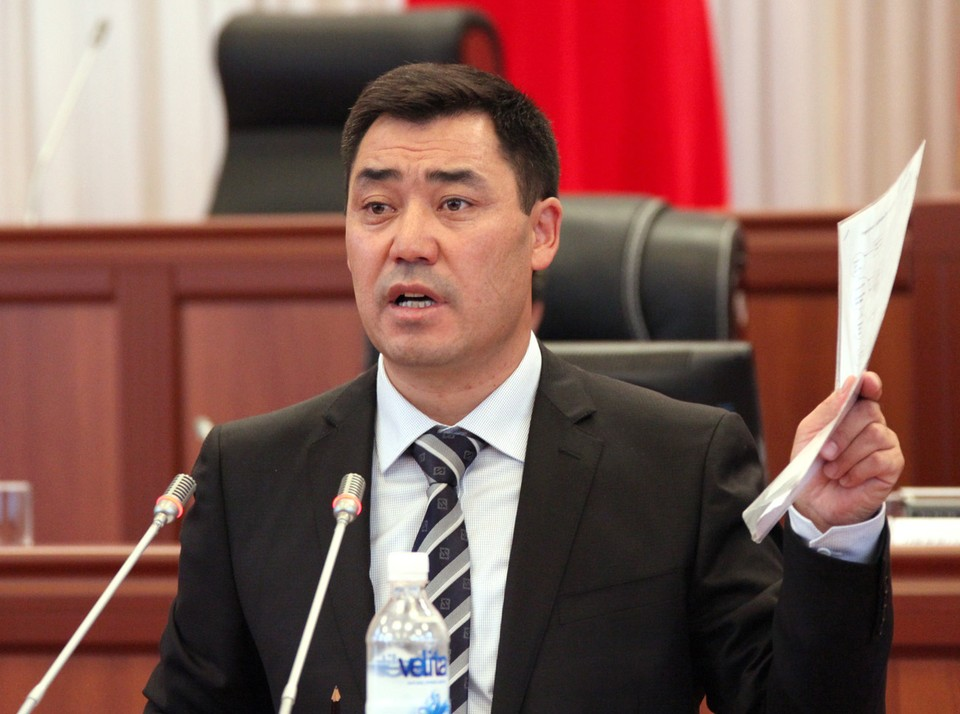 Путин поздравил Садыра Жапарова с победой на президентских выборах в Киргизии